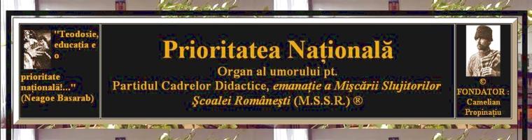 Blog Propinatiu Oligopedagogia – Prioritatea Nationala